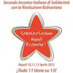 La solidarietà in Movimento. Il secondo incontro della Rete Caracas ChiAma ospite dei centri sociali napoletani.
