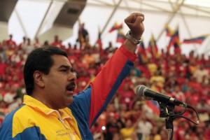 Venezuelan acting president Nicolás Maduro