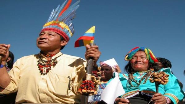 Popoli originari portano proposte per la pace in Colombia