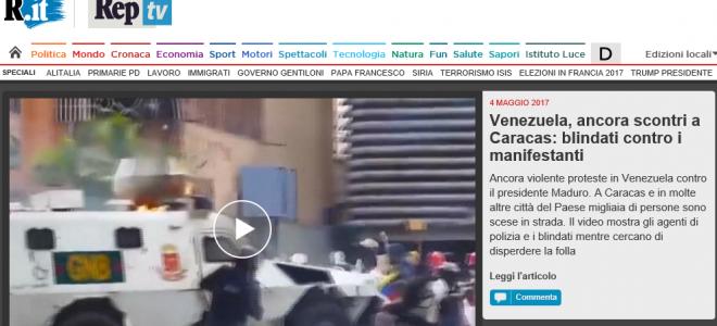 Risposta dell'Ambasciata alle notizie false dei mezzi di comunicazione italiani